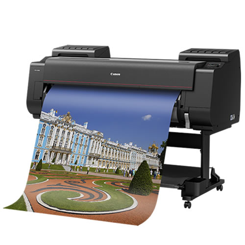 "Canon imagePROGRAF PRO-4100 SR Printer | with Single Roll Feed | 44"" inch | B0 | 12 Colour | Photographic | Fine Art Printer | 3869C003AA"