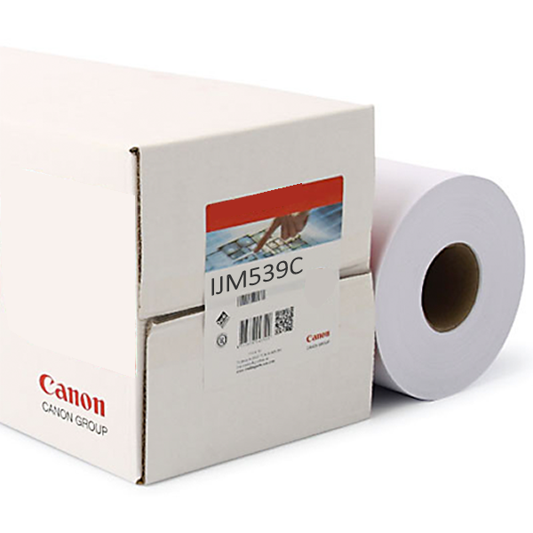"Canon IJM539C Self Adhesive Polyprop Film | Removable Adhesive | 100 micron | 36"" inch 