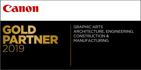 GDS Accredited Canon Gold Partner