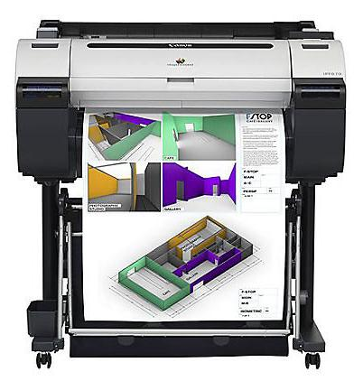 What rolls fit on Canon iPF670 printers