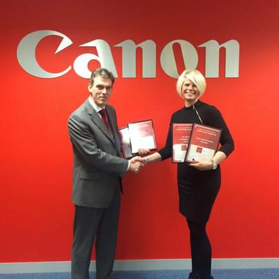 GDS Win big at Canon awards