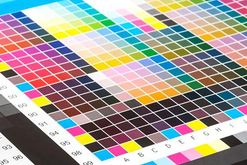 Colour Management test chart