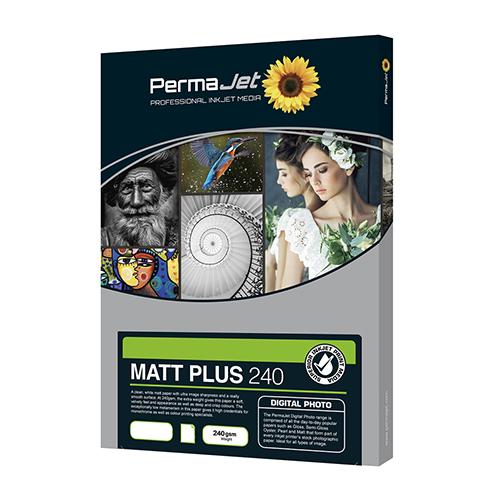 PermaJet Matt Plus 240 Digital Photo Paper Sheets - 240gsm - A4 x 50 sheets - APJ51114
