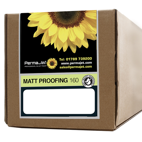 "PermaJet Matt Proofing 160 Digital Photo Paper Roll - 160gsm - 24"" inch - 610mm x 30mt - APJ51568"