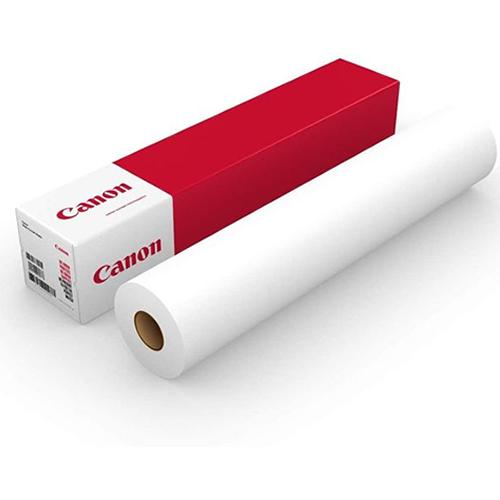 "Canon IJM614 Polymeric Vinyl White Gloss Permanent Self Adhesive | 80 Micron | 42"" Inch | 1067mm x 50mt | 97004357"