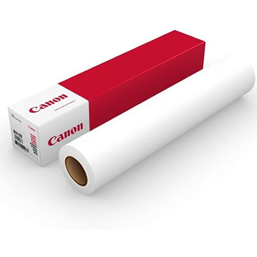 "Canon IJM645 Polymeric Vinyl | Gloss | Permanent Grey Opaque Adhesive | 80 Micron | 54"" Inch 