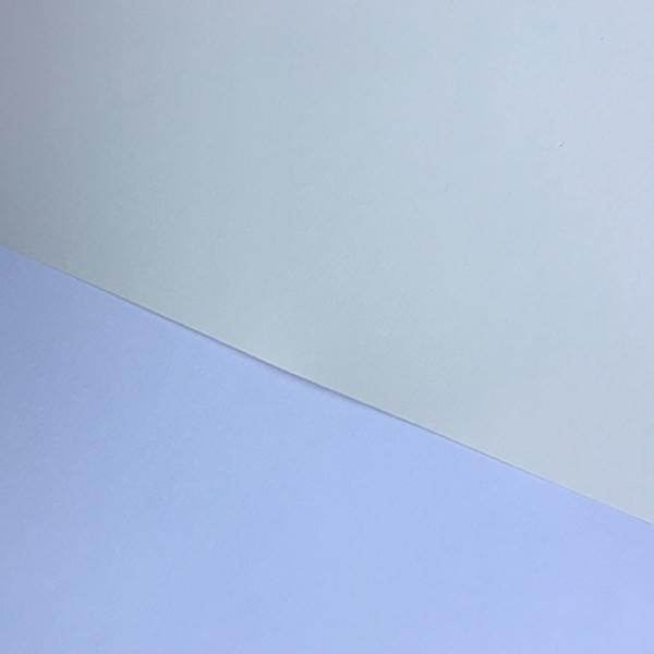 GDS Fine Art Smooth - Colour comparison (under window daylight) against basic white office copier paper
