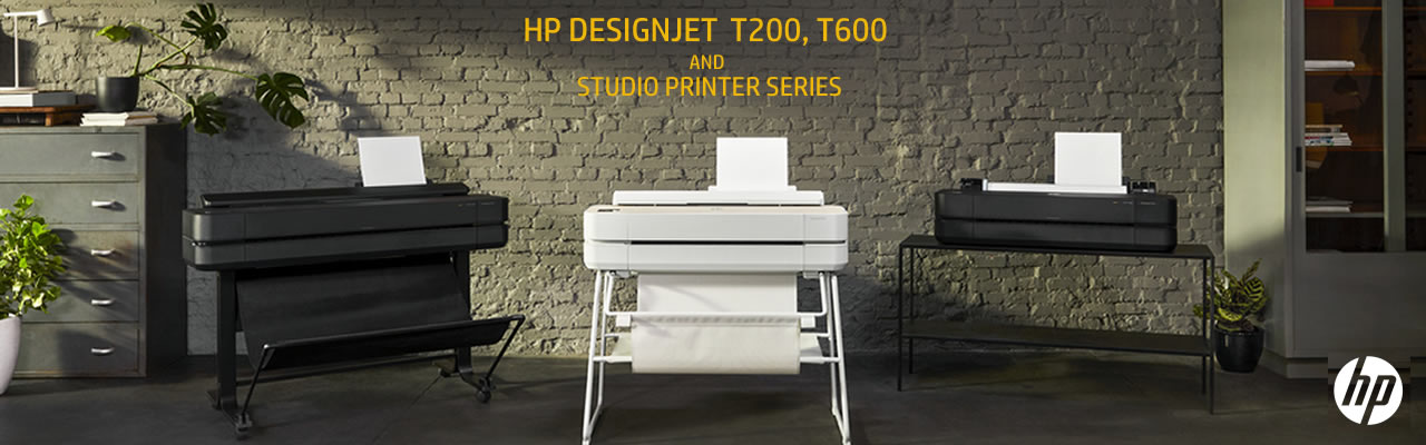 HP DesignJet T200, T600 and Studio Printer Series